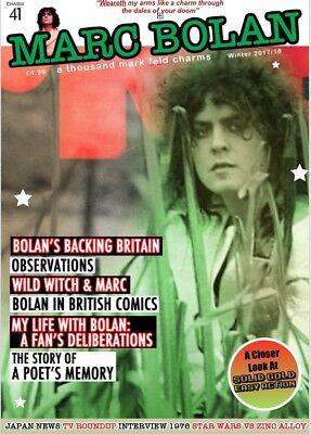NEW Marc Bolan Fanzine • ATMFC 41 Autumn/Winter 2017/18 • T.REX