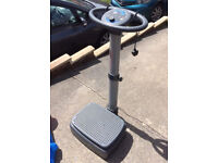Electric power plate
