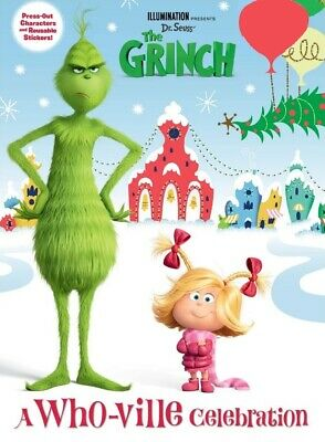 Dr. Seuss' The Grinch, A Who-Ville Celebration - Press-Out Characters & - Whoville Characters