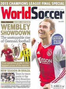 WORLD SOCCER- June 2013 issue (NEW/LATEST)