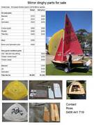 Mirror sailing dinghy Rose Bay Eastern Suburbs Preview