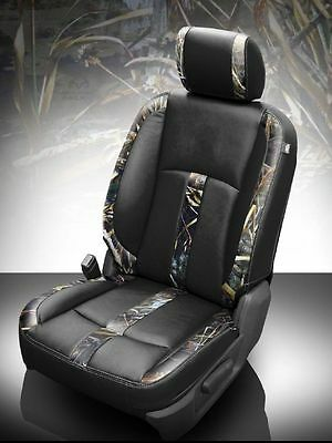 2013-2017 RAM CREW CAB KATZKIN REALTREE MAX-5 LEATHER SEAT REPLACEMENT COVERS