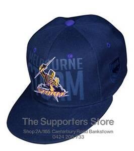 Melbourne Storm 2016 NRL Classic Snapback Flat Peak Cap! BNWT's!