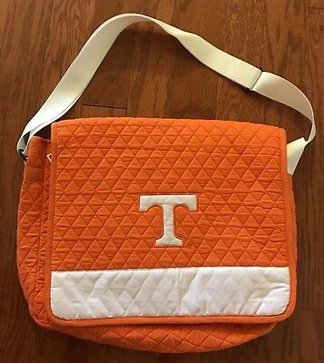 University Of Tennessee Laptop Bag Vols Computer Bag NCAA MESSENGER BAGS Quilted - Ncaa Laptop Bags