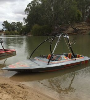 Childs Play Apache Ski Boat 350 chev Wallan Mitchell Area Preview