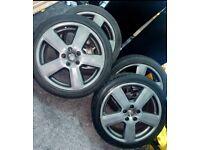 Audi 18 inch s line alloys