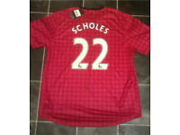Signed manchester united shirt £50
