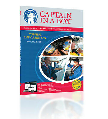 Captains License   Assistance Towing Endorsement   Online Course