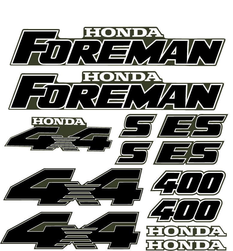 Foreman S/ES 400 450 Green