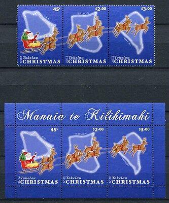 Tokelau 2012 Weihnachten Christmas 432-34 Block 49 MNH