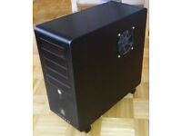 HIGH END Tower PC - Intel Q6600 2.4GHz, 4GB RAM, 64GB SSD, Asus P5E Board - Desktop Computer Gaming