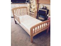 Brand new john Lewis Anna junior bed with unused mattress £50