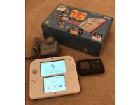 Boxed Nintendo 2DS in Red and White