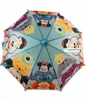 New Disney TSUM TSUM Characters umbrella Molded Umbrella for girls Kids - Girl Disney Characters