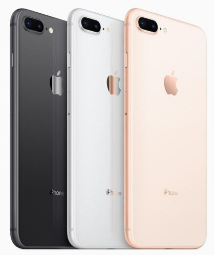 Apple iPhone 8+ Plus - 64GB 256GB Factory GSM Unlocked  AT&T T-Mobile Very Good