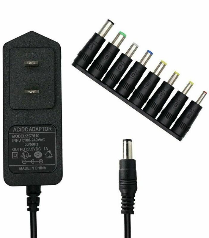 EIKS AC-to-DC 7.5V 1A(Max) Battery Supply Power Switching Adapter C1