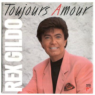 """Rex Gildo Toujours Amour - aus 7"""" MINT-Sammlung 1992"""