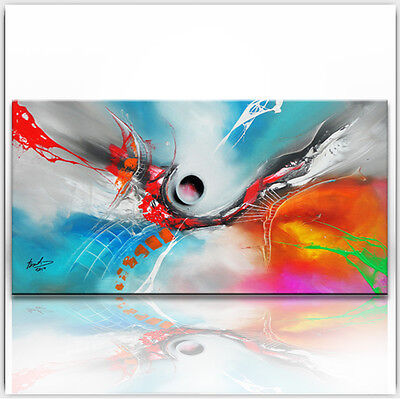 BRATIS ART Abstrakt Malerei Kunst Gemälde Bild Original Leinwand XXL Acryl 956G