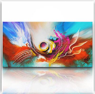BRATIS ART Abstrakt Malerei Kunst Gemälde Bild Original Leinwand XXL Acryl 898G