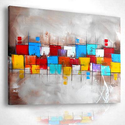 Gemälde abstrakt Acryl Bilder modern Kunst Art Design Wandbild ORIGINAL 614G