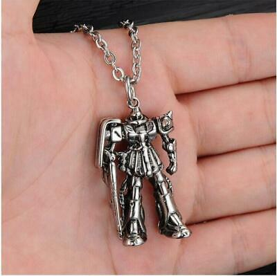 Men's Transformers Robot Necklace Pendant Stainless Steel Jewelry Retro Gift