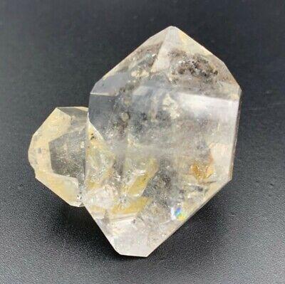 22.94 g Herkimer Diamond Cluster, Super Nice Water-Clear Gems w/ Stuck Enhydro,