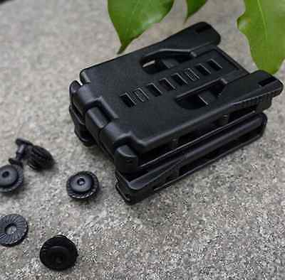 - EDC Gear Multi Function K Sheath Kydex Scabbard Belt Clip Waist Clamp Outdoor US