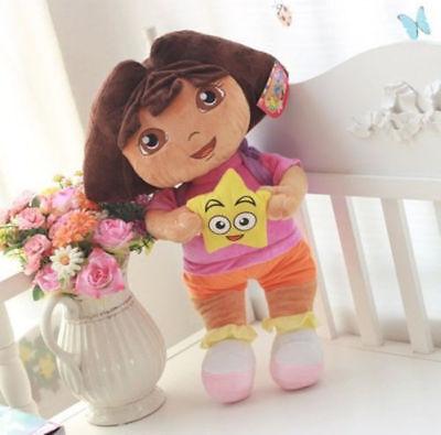 New DORA THE EXPLORER Kids Girls Soft Cuddly Stuffed Plush Toy Doll Free - The Explorer Girls