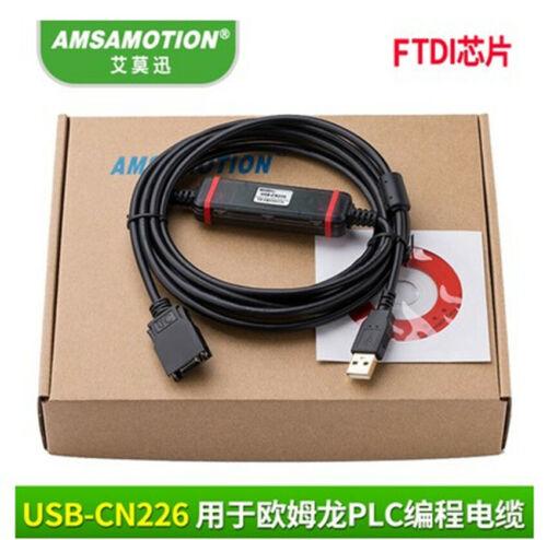 Usb-cn226 Cs1w-cn226 Rs232 Plc Programming Cable For Omron Cs/cj Cqm1h Cpm2c# Zx