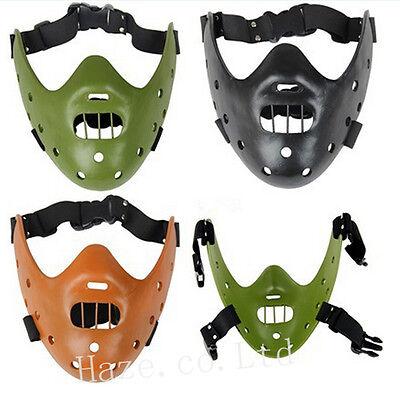 Halloween Silence of the Lambs Hannibal Lecter Mask party Costume - Hannibal Lecter Halloween
