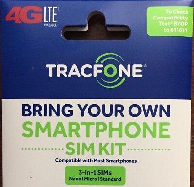 TRACFONE 4G LTE SIM CARD ON VERIZON WIRELESS NETWORK
