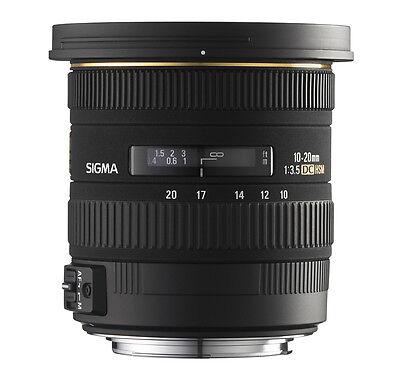 Sigma 10-20 mm 3,5 EX DC HSM Weitwinkel Objektiv für Canon EOS Neu