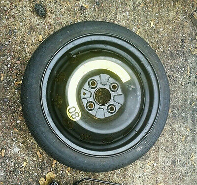 """VAUXHALL CORSA  2006-2018 SPACE SAVER 14"""" SPARE WHEEL & TYRE  FAST AND FREE"""