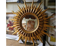 new sun shaped mirror for sale! only 4 left