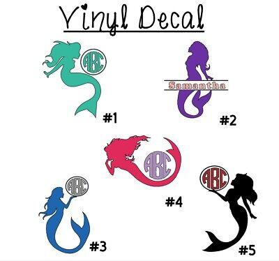 Mermaid Monogram 3