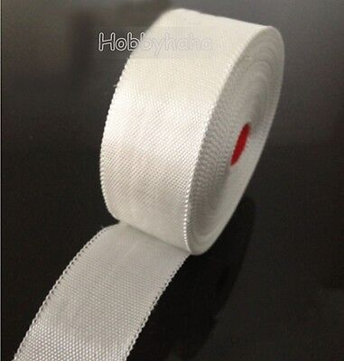 5 Rolls Fiberglass Cloth Tape E-glass Wide 12mm 50m Long Fiber Plain Weave