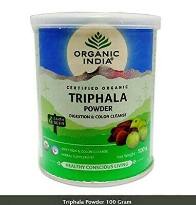 Organic India Triphala Powder, 100g / 3.52oz for sale  Shipping to South Africa