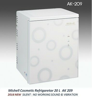 NEW Mishell Cosmetic Refrigerator 20 L AK 209 Silent Design & Smart Temp Control