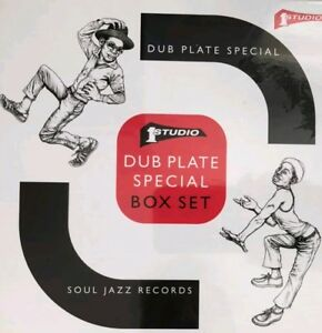 STUDIO ONE DUB PLATE SPECIAL BOX SET 5 RARE SINGLES ( NEW)