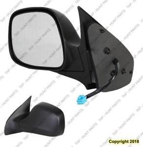 Door Mirror Power Driver Side Heated Buick Rendezvous 2002-2007