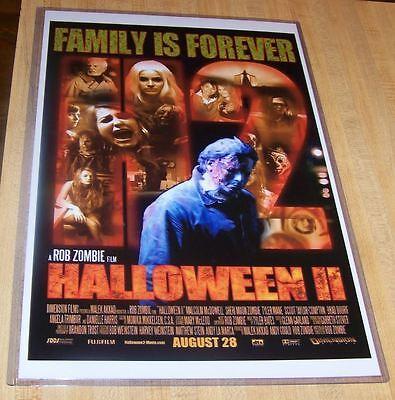 Halloween II 2 11X17 Rob Zombie Horror Alternate Movie Poster](Rob Zombie Halloween 2 Poster)