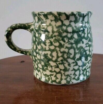 THE WORKSHOPS of Gerald R Henn Green Sponge Design Mug! Made In Roseville, Ohio