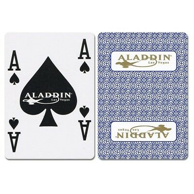 Aladdin New Uncancelled Casino Playing Cards