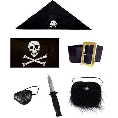 Girl Pirate Accessories (World Book Day Kids Pirate Fancy Dress Costume)