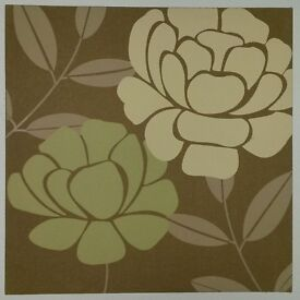 2 flower themed canvas pictures from Next