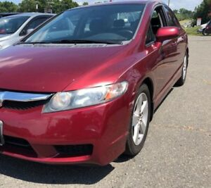 2009 Honda Civic LX-S, 105,000kms! Automatic