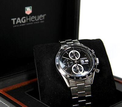 Tag Heuer CV2010-3 CARRERA Calibre 16 Chronograph Automatic Watch
