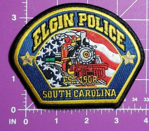 Elgin South Carolina Police shoulder patch