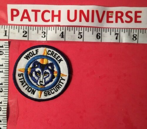 WOLF CREEK STATION SECURITY  SHOULDER PATCH  H035