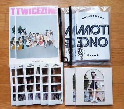 TWICE ONCE HALLOWEEN Official Goods TWICEZINE, Slogan, Postcards Set, Film Cards - Halloween Goods